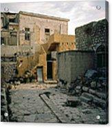 Side Street Safed Israel Acrylic Print