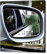 Side View Mirror Acrylic Print