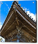 Side View On A Teahouse In Japan Acrylic Print