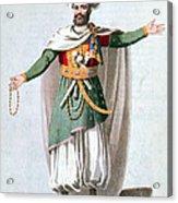 Sidy Hafsan, Bey Of Tripoli, 1816 Acrylic Print