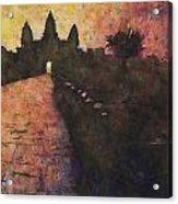 Siem Reap Sunrise 3 Acrylic Print