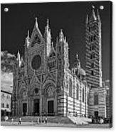 Siena Duomo Acrylic Print by Michael Avory