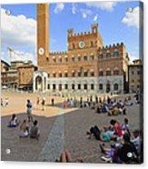 Siena Italy - Piazza Del Campo Acrylic Print