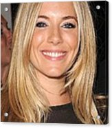Sienna Miller, At Intermix At In-store Acrylic Print by Everett