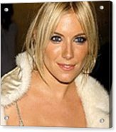 Sienna Miller In Attendance For Ck Acrylic Print by Everett