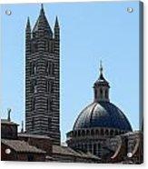 Sienna's Duomo Acrylic Print