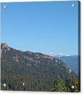 Sierra Nevada Mountains 3 Acrylic Print by Naxart Studio