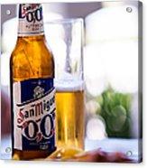 Siesta Time I. Beer Sun Miguel Acrylic Print