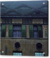 Sighisoara Old Town Eyes Acrylic Print