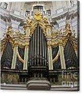 Silbermann Organ Acrylic Print