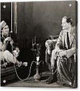 Silent Film Still: Smoking Acrylic Print