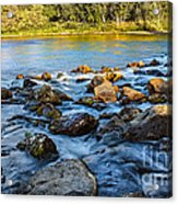 Silk Water Acrylic Print