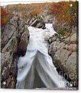 Silken Water Tent Acrylic Print