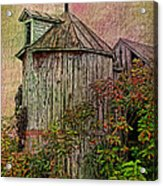 Silo In Overgrowth Acrylic Print