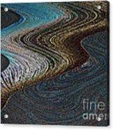 Silver Bay Acrylic Print