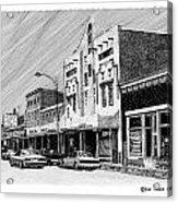 Silver City New Mexico Acrylic Print
