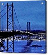 Silver Dawn Acrylic Print