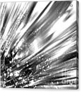 Silver Explosion Acrylic Print