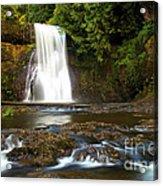 Silver Falls Waterfall Acrylic Print
