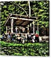 Silver Lake One Man Jam Fest Acrylic Print