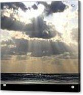 Silver Rays Acrylic Print