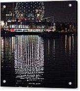 Silver Reflections Acrylic Print