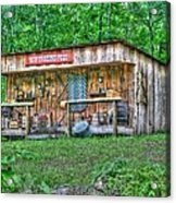 Silver River Trading Post Acrylic Print
