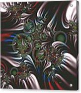 Silver Seedpods Acrylic Print