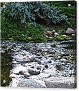 Silver Stream Acrylic Print
