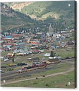 Silverton Colorado Painterly Acrylic Print