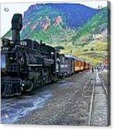 Silverton Train Acrylic Print
