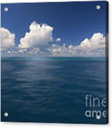 Simplicity Great Barrier Reef Acrylic Print