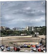 Simply North Beach From Tenby Harbour Acrylic Print