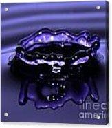 Simply Purple Acrylic Print