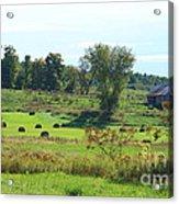 Simply Vermont Acrylic Print