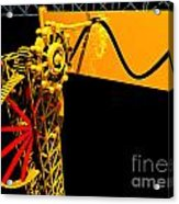 Sine Wave Machine Landscape 1 Acrylic Print