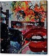 Sinful Lust Acrylic Print