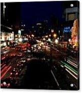 Singapore Nights Acrylic Print