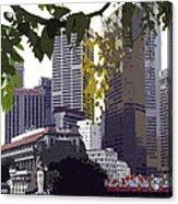Singapore ... The Lion City  Acrylic Print
