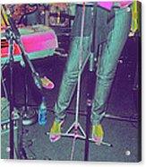 Singer's Stance Acrylic Print