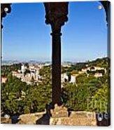 Sintra Balcony Acrylic Print