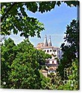 Sintra National Palace Acrylic Print by Carlos Caetano