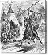 Sioux War, 1876 Acrylic Print by Granger
