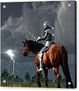 Sir Lightning Rod Acrylic Print