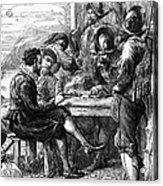 Sir Walter Raleigh Acrylic Print