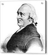 Sir William Herschel, British Astronomer Acrylic Print by