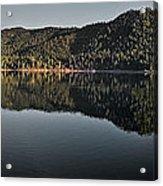 Siskiyou Lake Panorama Acrylic Print