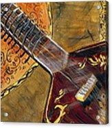 Sitar 3 Acrylic Print