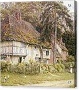 Six Bells Hollingbourne Kent  Acrylic Print