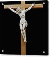 Sjncc Crucifix 1 Two K Eleven Acrylic Print by Carl Deaville
